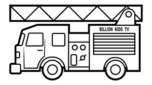 fire truck coloring page. Plain Page Fire Truck Coloring For Kids Intended Truck Coloring Page R