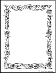 Great for supporting ell student with vocabular. Daisy Coloring Pages 15 Customizable Pdfs