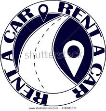 for rent sign template rent car logo vector car rentals stock vector 416581351 shutterstock