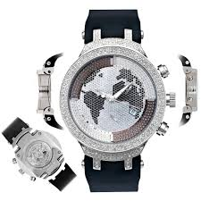 men 039 s diamond watch joe rodeo master jjm8 2 20 ct illusion men s diamond watch joe rodeo master jjm8 2 20 ct illusion wolrd map dial