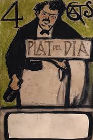 for the quatre gats dish of the day pablo picasso