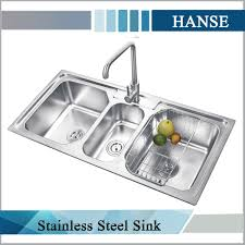 picturesque undermount 3 compartment kitchen sinks stainless steel sink used in kitchen wonderful triple