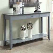 Grey Console & Sofa Tables You ll Love