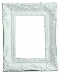matt white shabby chic ornate swept vintage picture frame for a 7 x 5 178mm x