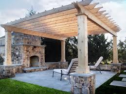 flagstone patio designs. flagstone patio |cedar pergola | fireplace designs