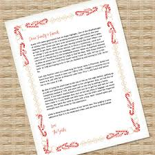 holiday template word christmas letter template for ms word download print