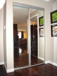 image of mirrored closet doors design