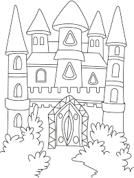 Small Picture Best Castle Coloring Pages 54 About Remodel Free Colouring Pages