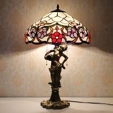 tiffany table lamps colors