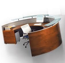 round office desk. Bralco Curved Modular Reception Desk 4 Office Furniture Scene Within Idea 9 Round O