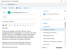 create email template outlook outlook letter template create email templates in outlook 2016 2013