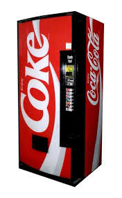 How To Rob A Soda Vending Machine Mesmerizing Dixie Narco Model 48 48oz Can Coca Cola Vending Machine Coke