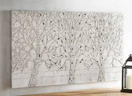 shimmering trees mosaic wall decor pier 1 imports