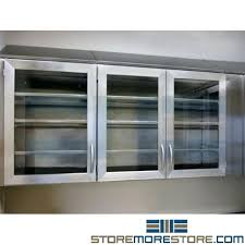 free on stainless steel wall cabinets upper with glass doors oak kitchen