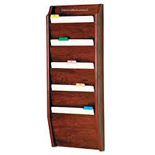 Patient Chart Racks Amazon Com Dmd File Rack Wall Mount Chart Holder 5