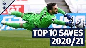 The BEST Hugo Lloris saves from the 2020/21 season! - YouTube