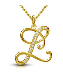 kataria jewellers letter l gold plated 92 5 sterling silver and swarovski alphabet initial pendant kataria jewellers letter l gold plated 92 5 sterling