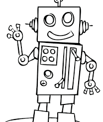Tobot Coloring Pages Cute Robot Coloring Pages To Print