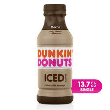 Dunkin' donuts is popular for its baked goods, particularly doughnuts, and its brewed coffee. Dunkin Donuts Mocha Iced Coffee Bottle 13 7 Fl Oz Walmart Com Walmart Com