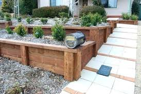timber retaining wall design building a walls simple designs sleeper