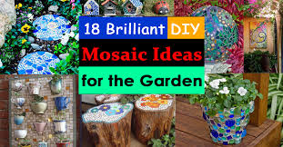 garden mosaics. Simple Garden 18 Brilliant DIY Mosaic Ideas For Garden  Craft Balcony Web Inside Mosaics A