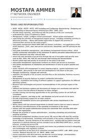 Network Administrator Resume Samples - Visualcv Resume Samples Database