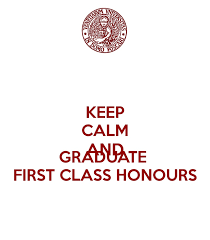 First Class Honours Bucketlist Graduate From University With A First Class Honours