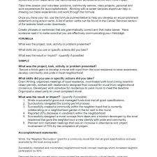 Resume Accomplishments Examples Waiter Functional Resume Example
