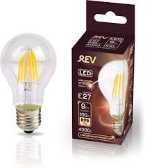<b>Лампа</b> светодиодная <b>REV Deco Premium</b> Filament A60, холодный ...