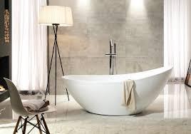freestanding bathtub vice of sanitary acrylic white glossy 183 5 x 78 5 x 77 cm