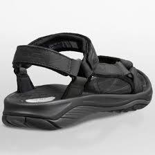 teva women 39 s pretty rugged leather 3 sandals black