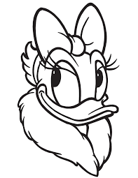 Small Picture Daisy Duck Picture Portrait Coloring Page H M Coloring Pages