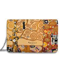 Borsa Albero della Vita di Klimt - Gracia P Collection