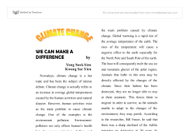 essay on climate change and its effects essay on the impact of climate change on environment