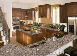 almond mauve granite countertop design pink granite kitchen design