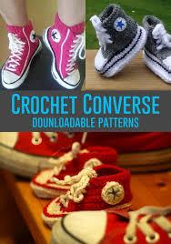 Crochet Converse Pattern