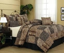 leopard print comforter set queen sgmun club with regard to king decorations 17