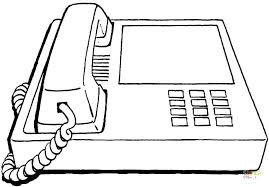 Cell Phone Coloring Pages Click The Office Phone Coloring Pages Cell
