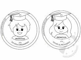 Festa Dei Diplomi Scuola Infanzia Medaglie Per Bambini Lavoretti
