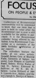 Erma Eaton Art Calendar 1976 - Newspapers.com