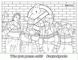 Small Picture Ghostbusters Coloring Pages At itgodme