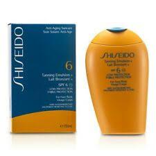 Солнцезащитный крем для женский <b>эмульсия Shiseido</b> Products ...