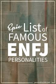 Enfj Compatibility Chart Epic List Of Famous People With Enfj Personalities