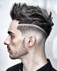 Awesome Center Little Mohawk Haircut For Blonde Men Check More At