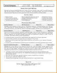 6 restaurant manager resume examples job bid template 6 restaurant manager resume examples