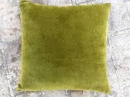 green velvet pillow. Green Velvet Pillow
