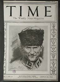 24 MARCH 1923 TIME MAGAZINE %100 ORIGINAL MUSTAPHA KEMAL PASHA / ONLY COVER  PAGE | eBay