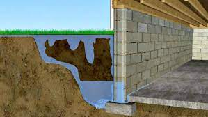 basement seepage after heavy rain