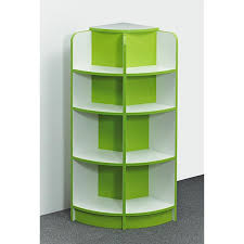 corner shelves furniture. It Does What Says On The Tin \u2013 Our Curvy Corner Bookcase Has Soft, Shelves Furniture