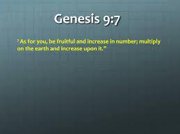 Image result for Genesis 9:7